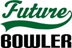 Future Bowler Kids T Shirts