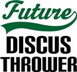 Future Discus Thrower Kids T Shirts