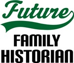 Future Family Historian Kids T Shirts