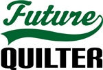 Future Quilter Kids T Shirts