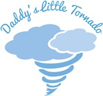 Daddys Little Tornado Boys T-shirts