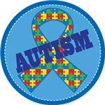 Autism Puzzle ribbon gifts and mugs