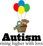 Autism Rising Higher With Love Shirts