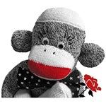 Bowty The Sock Monkey
