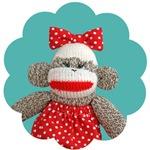 Ichigo the Sock Monkey