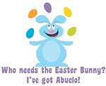 Easter Bunny? I've got Abuelo!