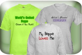 Beppe Gifts and T-Shirts