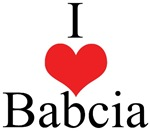 I Love (Heart) Babcia