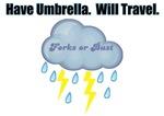 Twilight Umbrella Forks