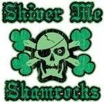 Shiver Me Shamrocks Green Pirate