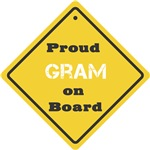 Proud Gram on Board