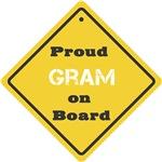 Proud Gram on Board