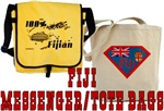 Fiji Messenger/Tote Bags