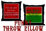 Funny Throw Pillows