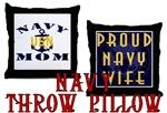 Navy Throw Pillows