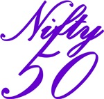 50th birthday gifts, Nifty Fifty