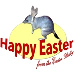 Easter Bilby, Happy Easter, Yellow