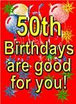 50th Birthday Cards & Invitations