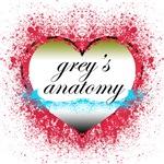 Heart Grey's Anatomy T-Shirts & Gifts.