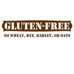 GLUTEN-FREE no wheat rye barley or oats