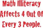 Math Illiteracy