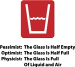 Physicist Half Glass