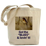 Bluebird Hats, Mugs & Bags