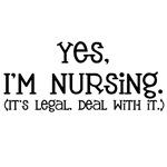 Yes, I'm Nursing