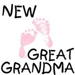 New Great Grandma - Pink