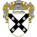 Connelly Coat of Arms (Mantled)