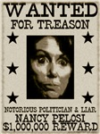 WANTED Nancy Pelosi