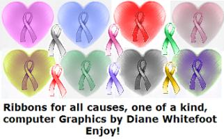All Cancer Ribbons & more!
