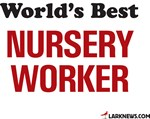 World's Best Nursery Worker