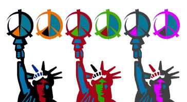 PEACE & LIBERTY COLORS