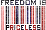 Freedom is Priceless America T-shirts & Gifts