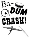 Rim Shot Ba Dum Crash T-shirts & Gifts