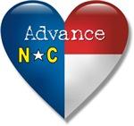 Love Advance North Carolina T-shirts & gifts