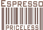 Espresso Priceless Barcode T-shirts & Gifts