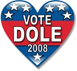 Vote Elizabeth Dole 2008 Politcal T-shirts & Gifts