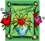 Valentine Daisy T-shirts & Gifts