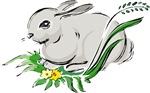 Cute Easter Bunny T-shirts & Gifts