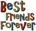 Best Friends Forever BFF School T-shirts & Gifts