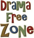 Funny Drama Free Zone T-shirts & Gifts