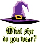 Funny Witch's Hat Halloween T-shirts Gifts