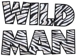 Wild Man t-shirts gifts