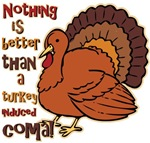 Turkey Induced Coma Christmas T-shirts Gifts