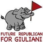 Future Republican for Giuliani t-shirts gifts