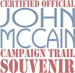 Official McCain Campaign Souvenir T-shirts Gifts