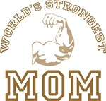 World's Strongest Mom T-shirts Gifts