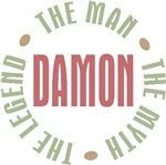 Damon the Man the Myth the Legend T-shirts Gifts